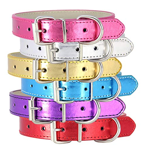 OSaic Classic Basic Pet Collars Reflective for Small and Medium Cats and Dogs Pets,Harnesses Or Leashes