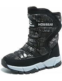 Boys Snow Boots Outdoor Waterproof Winter Kids Shoes