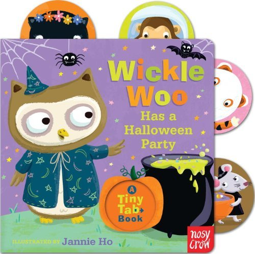 (By Nosy Crow Wickle Woo Has a Halloween Party (Tiny Tab Book) (Ina Brdbk) [Board)