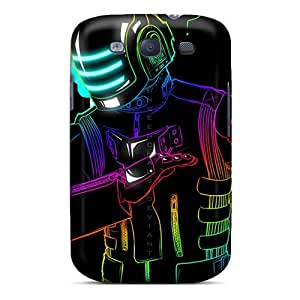 Anti-scratch And Shatterproof Daft Punk Phone Case For Galaxy S3/ High Quality Tpu Case