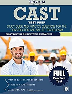 CAST Exam Flashcard Study System: CAST Test Practice Questions ...