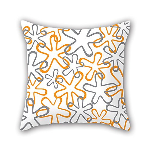 NICEPLW Leaf Pillowcase 18 X 18 Inches / 45 By 45 Cm Best Choice For Bar Seat,gf,indoor,birthday,coffee House,couch With 2 Sides