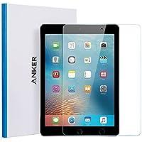 """Anker iPad Air Panzerglas Schutzfolie, Premium Hartglas Displayschutz für iPad Air/iPad Air 2/iPad Pro 9.7""""/New iPad 9.7"""" (2017)/iPad 9.7"""" (2018) mit einer Härte von 9H und Einfacher Anbringung"""