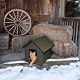 K&H PET PRODUCTS Outdoor Kitty House Cat Shelter