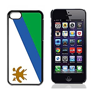 Flag of Laos Hard Plastic and Aluminum Back Case for Apple iphone 5C