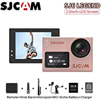 SJCAM SJ6 Legend Sports Action Camera Helmet Sports DV Camera Waterproof 4K 1080P Camcorder, with Mounting Accessories