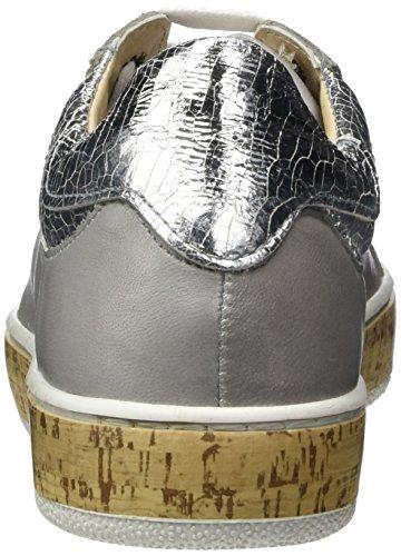 Manas Damen Rodi Sneaker Grau (grigio+road+argento 006)