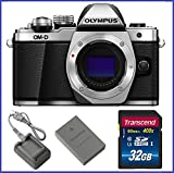 Olympus OM-D E-M10 Mark II Mirrorless Micro Four Thirds Digital Camera Body [Silver] + 32GB SDCH Class 10 Memory Card Review