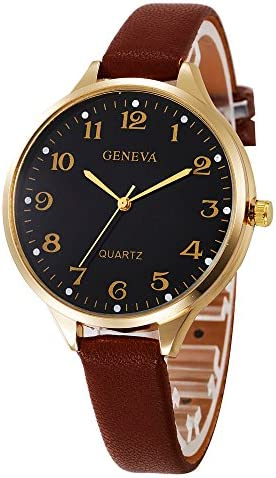 Wrist Watches for Women Under 5 Women Casual Checkers Faux Leather Quartz Analog Wrist Watch Nice Gifts for Your Lovers / Wrist Watches for Women Under 5 Women Casual Checkers Faux Leather Quartz Analog Wrist Watch Nice Gifts for Y...