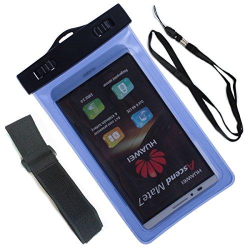 Beiuns Universal impermeable funda para Huawei P6/ P7/ P7 Mini/ P8/ P8 Lite/ P9/ P9 lite/ Mate S/ Nexus 6P/ Enjoy 5/ short X,etc
