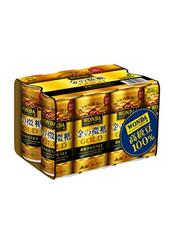 [일본 아사히 캔커피 원다 WONDA] 아사히 음료 원다 금의 미당 185g×30개