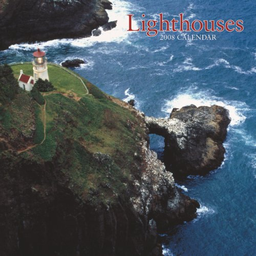 Lighthouses 2008 Wall Calendar (German, French, Spanish and English Edition) by BrownTrout Publishers