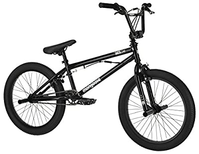 """Mongoose Boys Data X 2.2 Freestyle Bicycle with 20"""" Wheels, Grey"""