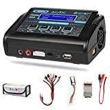 LiPo Charger ,Battery Balance Charger Discharger 150W 10A AC/DC for Li-ion/Life/NiCd/NiMH/LiHV/PB/ Smart Battery(Battery Charger Adapter)