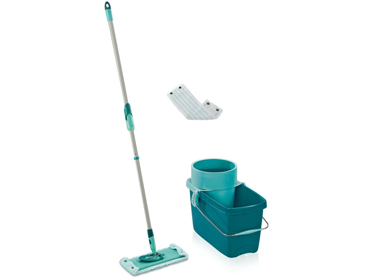 Amazon.com: Leifheit Mop Set with Clean Twist System Evo: Kitchen ...