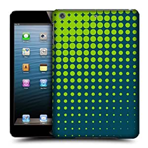 Head Case Designs Lime Halftones Protective Snap-on Hard Back Case Cover for Apple iPad mini with Retina Display