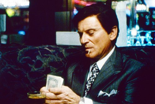 Joe Pesci as tough Nicky Santoro 24x36 Poster counting money from Casino from Silverscreen