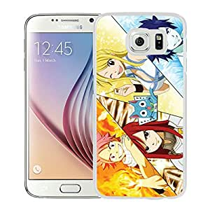 Fairy Tail 16 White New Design Samsung Galaxy S6 G9200 Protective Phone Case