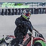 YnGia Motorcycle Helmet Light, Shark Shape Night