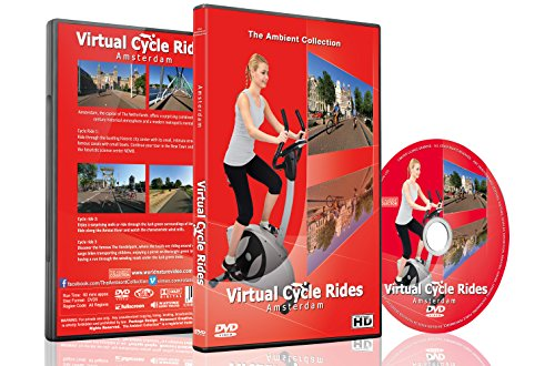 Virtual Cycle Rides - Amsterdam, The Netherlands - For Indoor Cycling, Treadmill and Running - Sunglasses Amsterdam