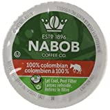 NABOB 100% Colombian Coffee Single Serve Pods, 12 Pods, 117G