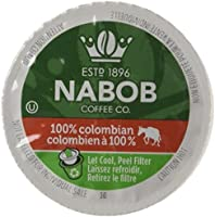 Kraft Nabob 100-Percent Colombian Coffee Pod, Compatible with Keurig K-Cup Brewers, 12-Count