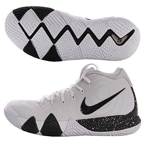 Nike Kyrie 4 Mens Basketball Shoes White/Black 12 M US