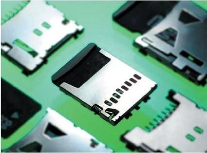 Amazon.com: Conectores de tarjeta de memoria 1,28 mm MicroSD ...