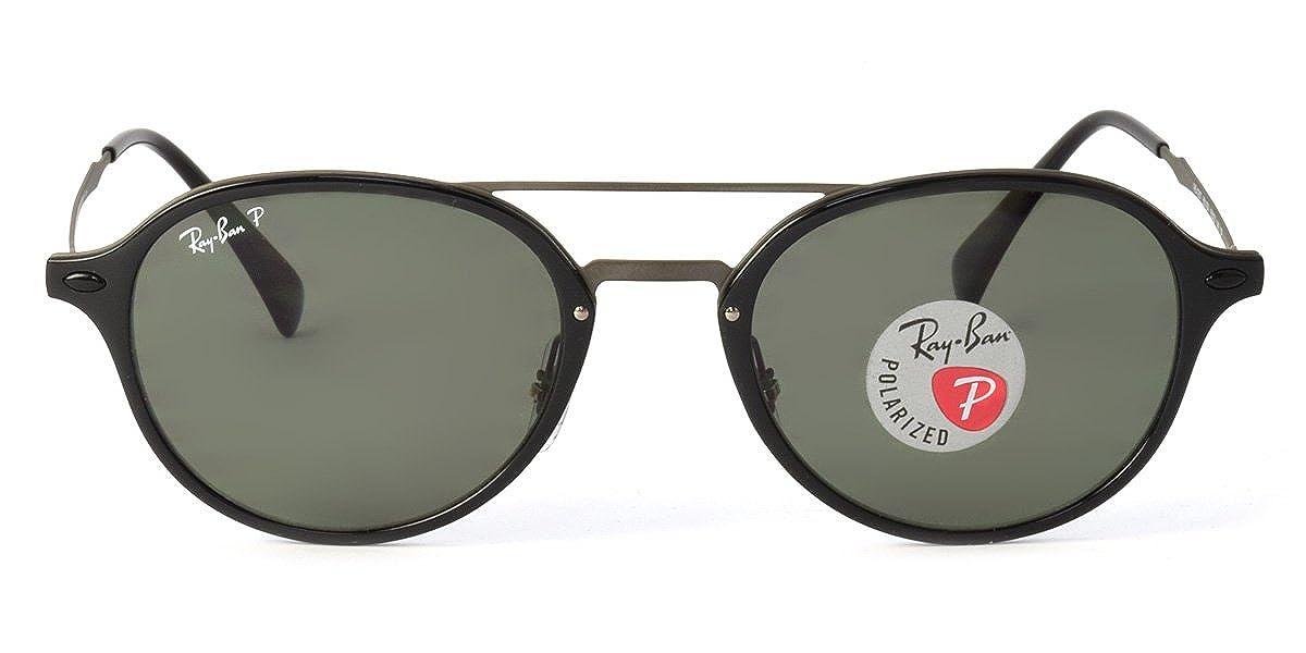 Amazon    Ray-Ban国内正規品販売認定店 RB4287 601 9A 55サイズ Ray-Ban (レイバン) サングラス TECH  LIGHT RAY テック ライトレイ ボストン ダブルブリッジ メンズ ... 08621bd96061