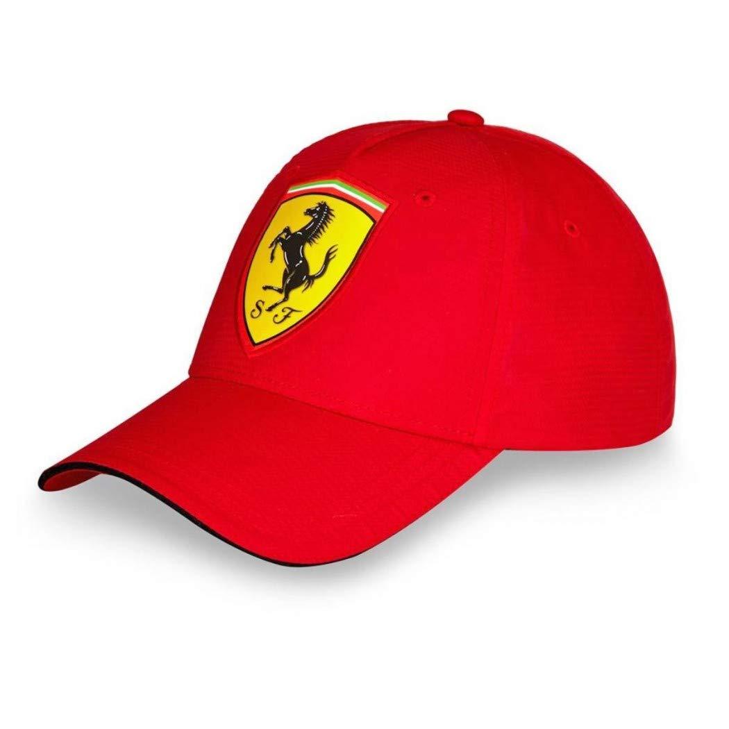 Ferrari Red Carbon Shield Hat by: Amazon.es: Deportes y aire libre