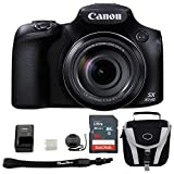 Cheap Canon Powershot SX60 HS Bundle + Canon SX60 HS Digital Camera Basic Accessory Kit – Including EVERYTHING You Need To Get Started