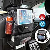 AMEIQ Seat Back Organizer for Car, Cooler with Cell Phone iPad...