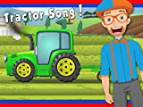 Tractor Song by Blippi | Tractors for Kids