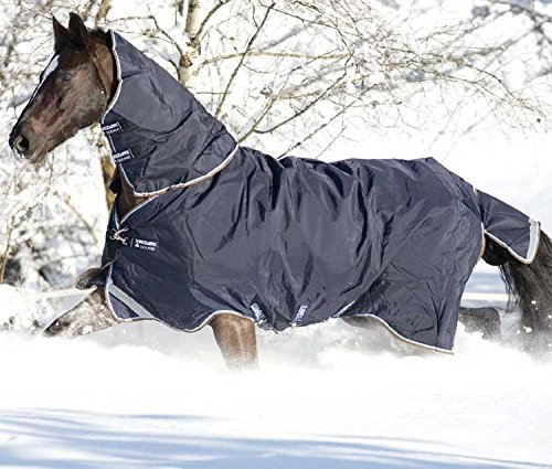Horseware Rambo Duo Turnout Blanket 78 Navy