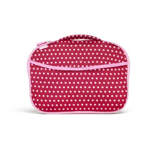 Built Diaper Buddy Changing Pad, In Baby Pink Mini Dots by Built NY