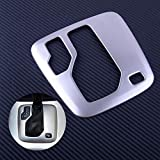 Star-Shopinc - New Stainless Steel Car Transmission Shift Gear Panel Cover Frame Trim Fit for Volvo XC90 2002-2010 2011 2012 2013 2014