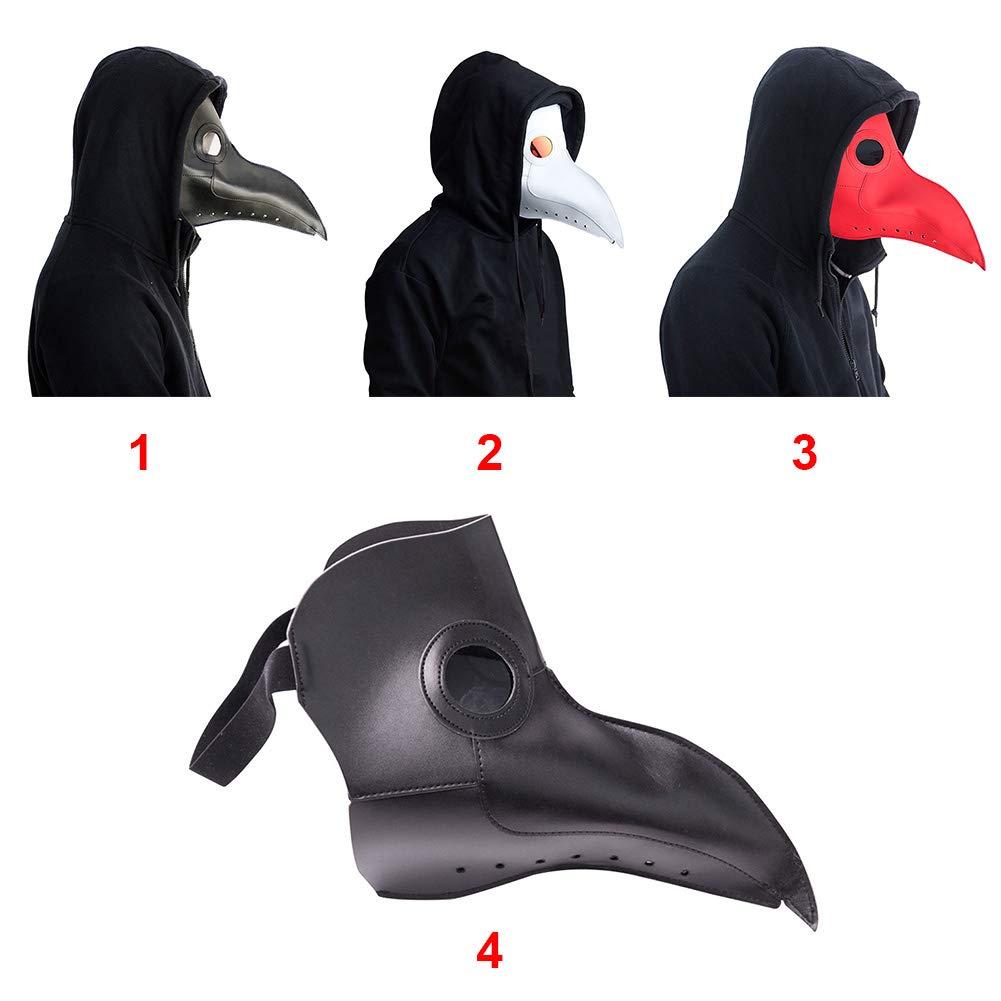 vap26 Plague Doctor Bird Mask Lungo Naso Becco Cosplay Gotico Steampunk Bird Mask Puntelli Costume di Halloween