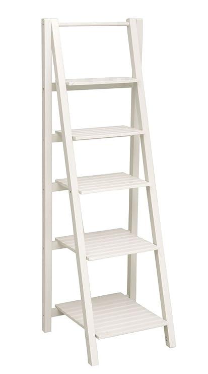 low priced 987b2 9d16f Amazon.com: Cape Craftsman 5-Tier Narrow Ladder Shelf Unit ...