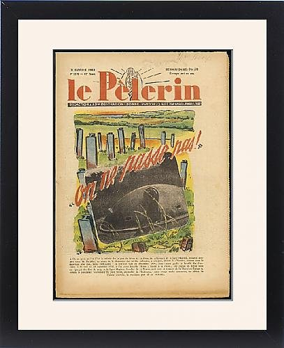 Framed Print Of Maginot Line by Prints Prints Prints