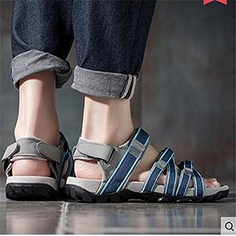 41fa1fa8ff9d Amazon.com  10 Shoe Size Beach shoes men cool summer leisure shoes ...