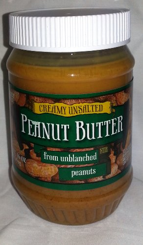 Trader Joe's Creamy Unsalted Peanut Butter From Unblanched Peanuts