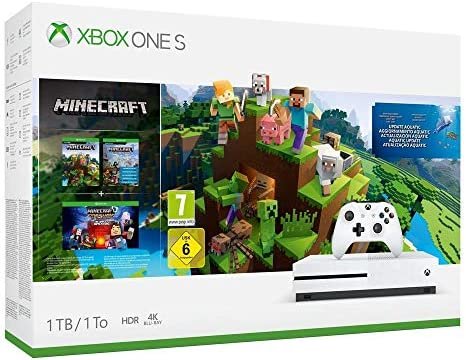 Consola S De 1 TB + Minecraft Complete Collection: Amazon.es: Videojuegos