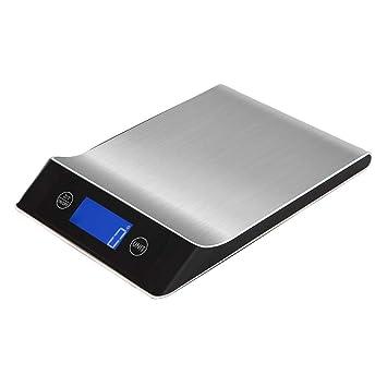YAJAN-KitchenScale Básculas Cocina Digital electrodoméstico Básculas Herramienta eléctrica Monitor LCD multifunción eléctrico Alta precisión medición ...