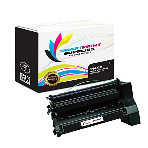 (Smart Print Supplies Compatible C770 C7702KH C780H2KG Black Extra High Yield Toner Cartridge Replacement for Lexmark C770 C772 C780 C782 X780 X782 Printers (10,000 Pages))