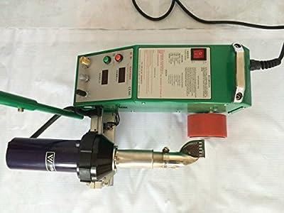 Uuni-WT TOP2000C banner welder 1600W welder equipment Automatic plastic butt welding machine without glue equiped switzerland Leister heat gun