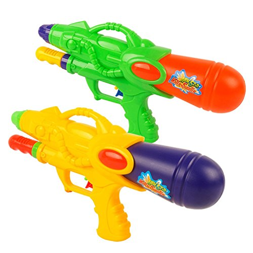 Nozzle Squirt Gun Water Shooters Air Pressure Single Pump Toy With Strong Stream, Great For Beach, Pool Playing Children To Play In The - Fake Glasses Reading Target