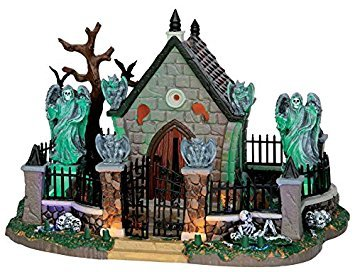 Lemax Spooky Town Graveyard Scene with Adaptor # 55907 ()