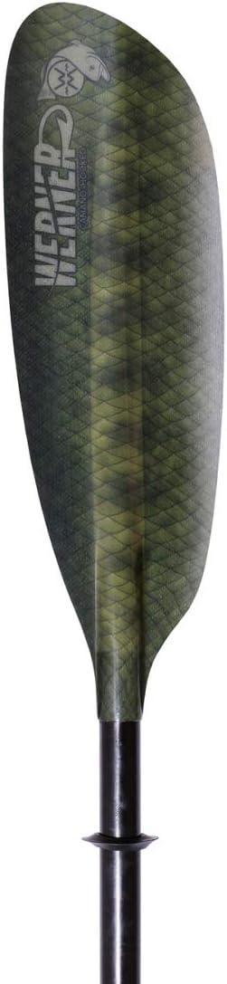 Werner Camano Hooked Kayak Fishing Paddle-StealthCamo-230cm