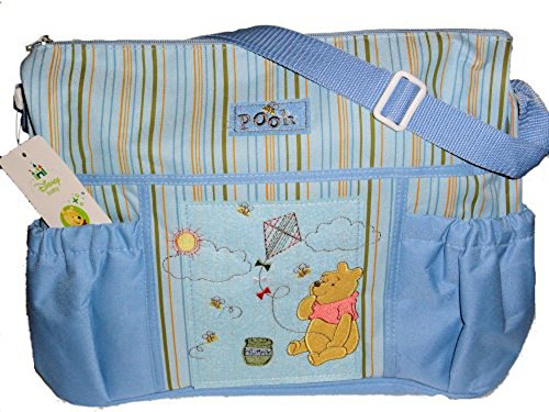 Disney Pooh Winnie The Diapers (Regent Baby Product Corp Diaper Bag, Colors may vary)