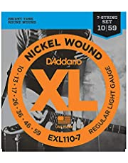 Daddario Exl110-7 Elektro Gitar Tel Seti, 7 Telli, Xl, 10-59, Nickel
